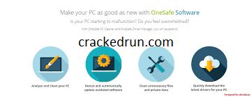 OneSafe PC Cleaner Pro Crack 8.0.0.7 Plus License Key 2021