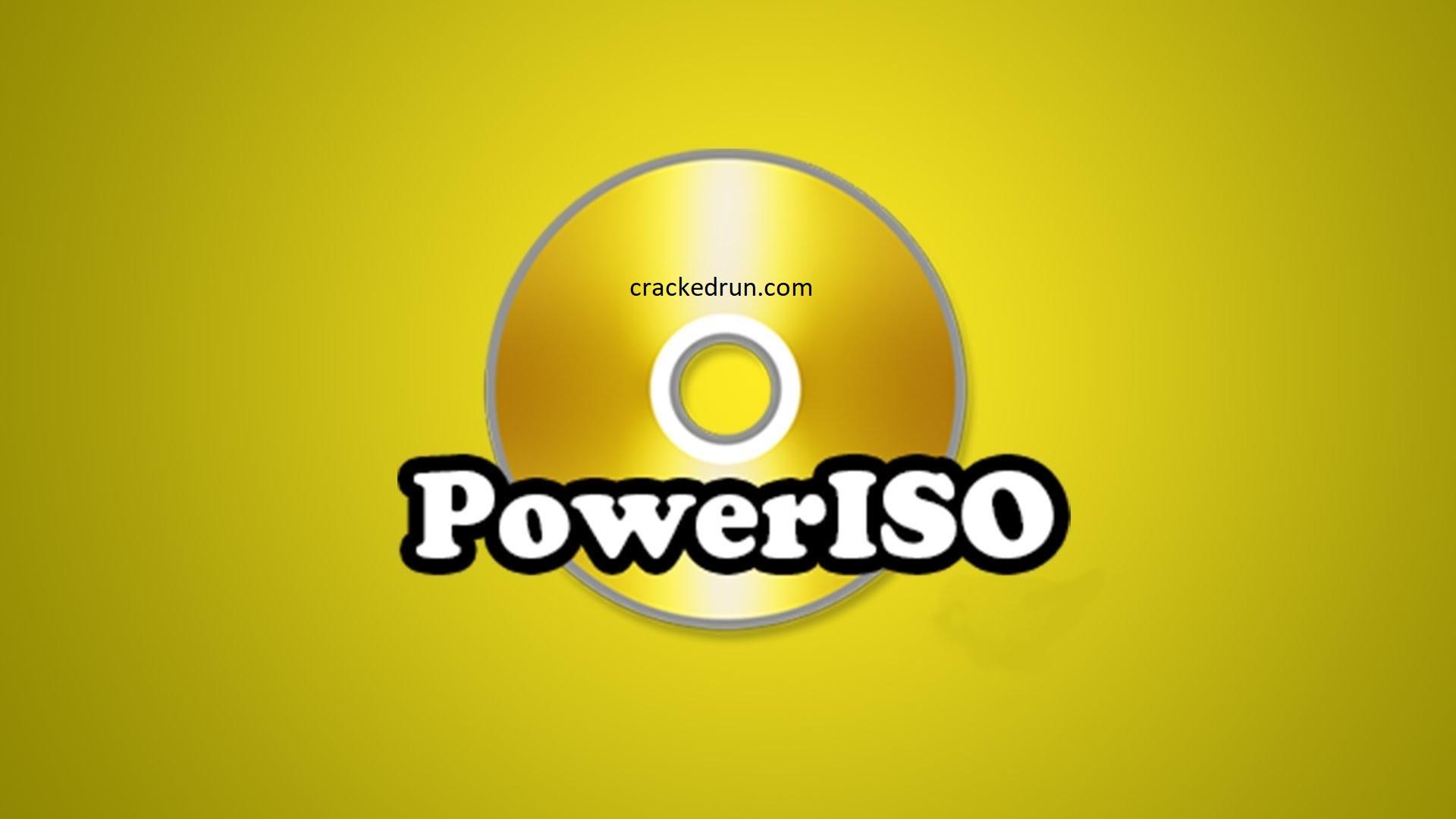 PowerISO Crack 7.9 + Serial Key Free Full Download 2021