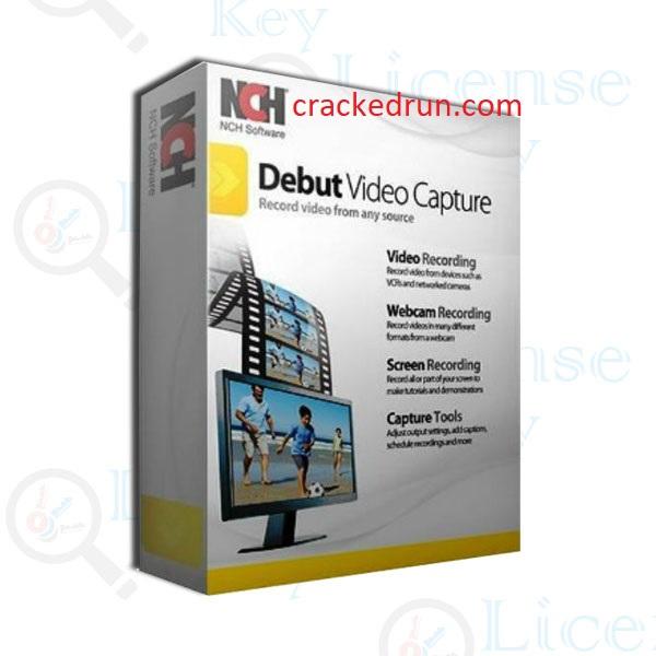 Debut Video Capture Crack 7.39 + Serial Key Free Download 2021